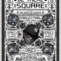 BE THERE or BE SQUARE II: MARLEY MARL & CRAIG G (Juice Crew) + DONALD D (Zulu Nation) @ Leoncavallo (Mi)