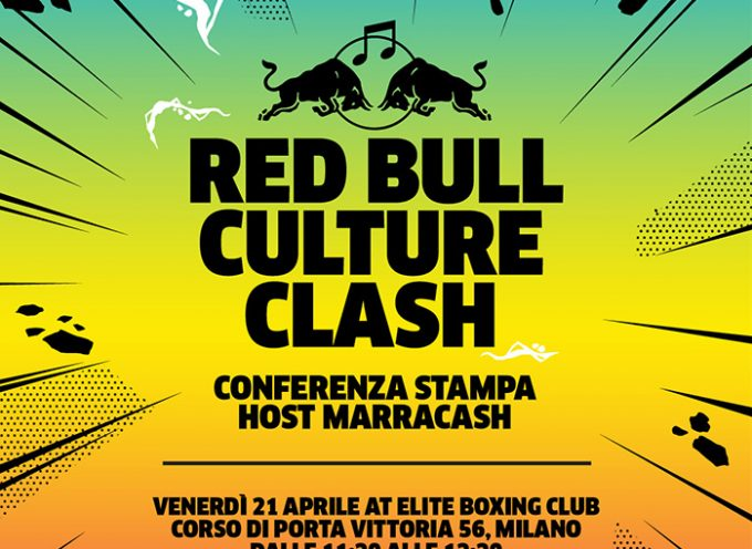 Red Bull Culture Clash 21 APRILE