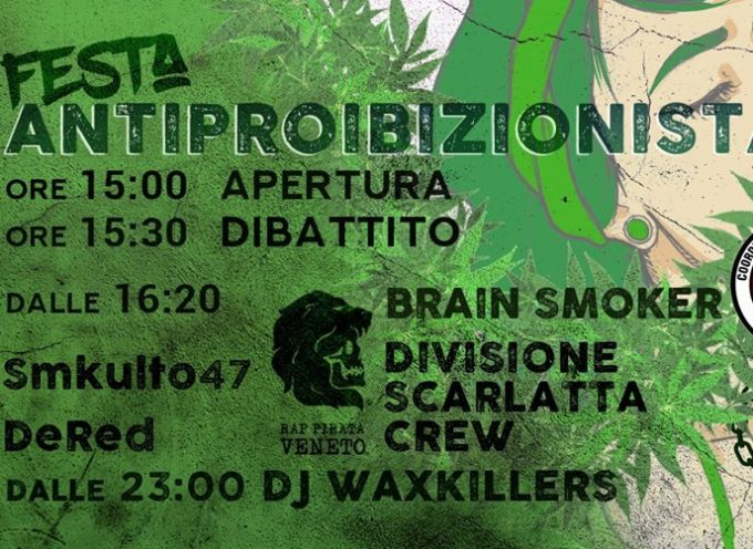 Rap Pirata Veneto Showcase al 4.20 Festa Antiproibizionista HipHop