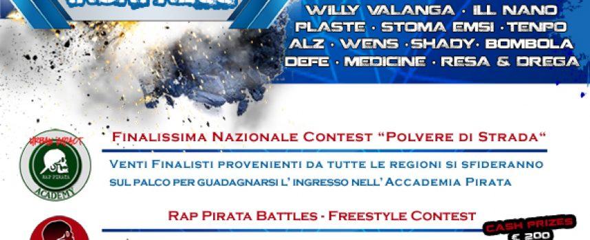 Rap Pirata connessione accogliente con Brescia
