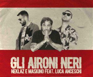 """""""Gli Aironi Neri"""" dei Nomadi in chiave trap. Intervista a NEKLAZ E MASKINO FEAT. LUCA ANCESCHI"""