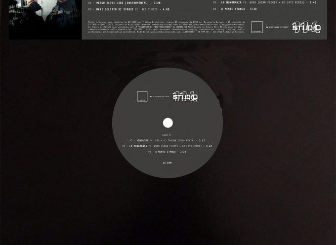 """Aldebaran Records pubblica il vinile """"Verso Altri Lidi Ep"""" di UOMINI DI MARE (Fabri Fibra & Dj Lato)"""