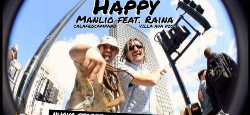 """""""HAPPY"""" IL VIDEOCLIP DI MANLIO CALAFROCAMPANO FEAT. RAINA"""