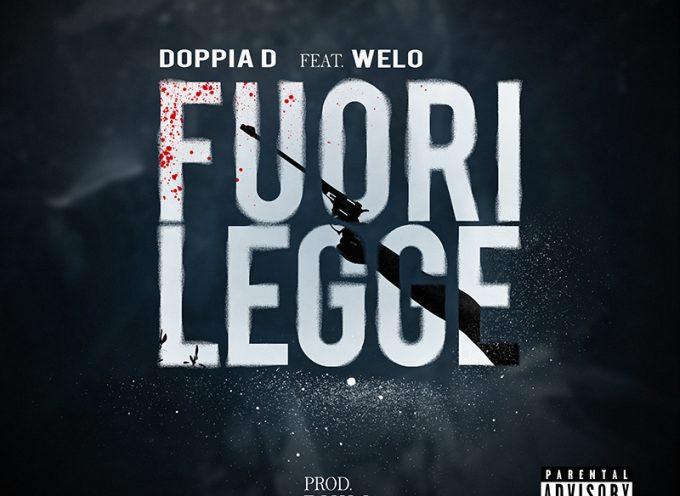 """Esce """"Fuorilegge"""" il nuovo brano prodotto daPhillfeat DoppiaD"""